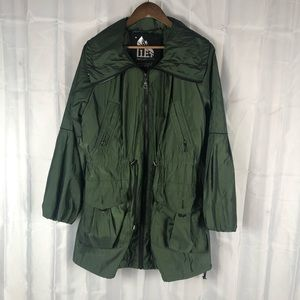 G.E.T performance utility forest green jacket
